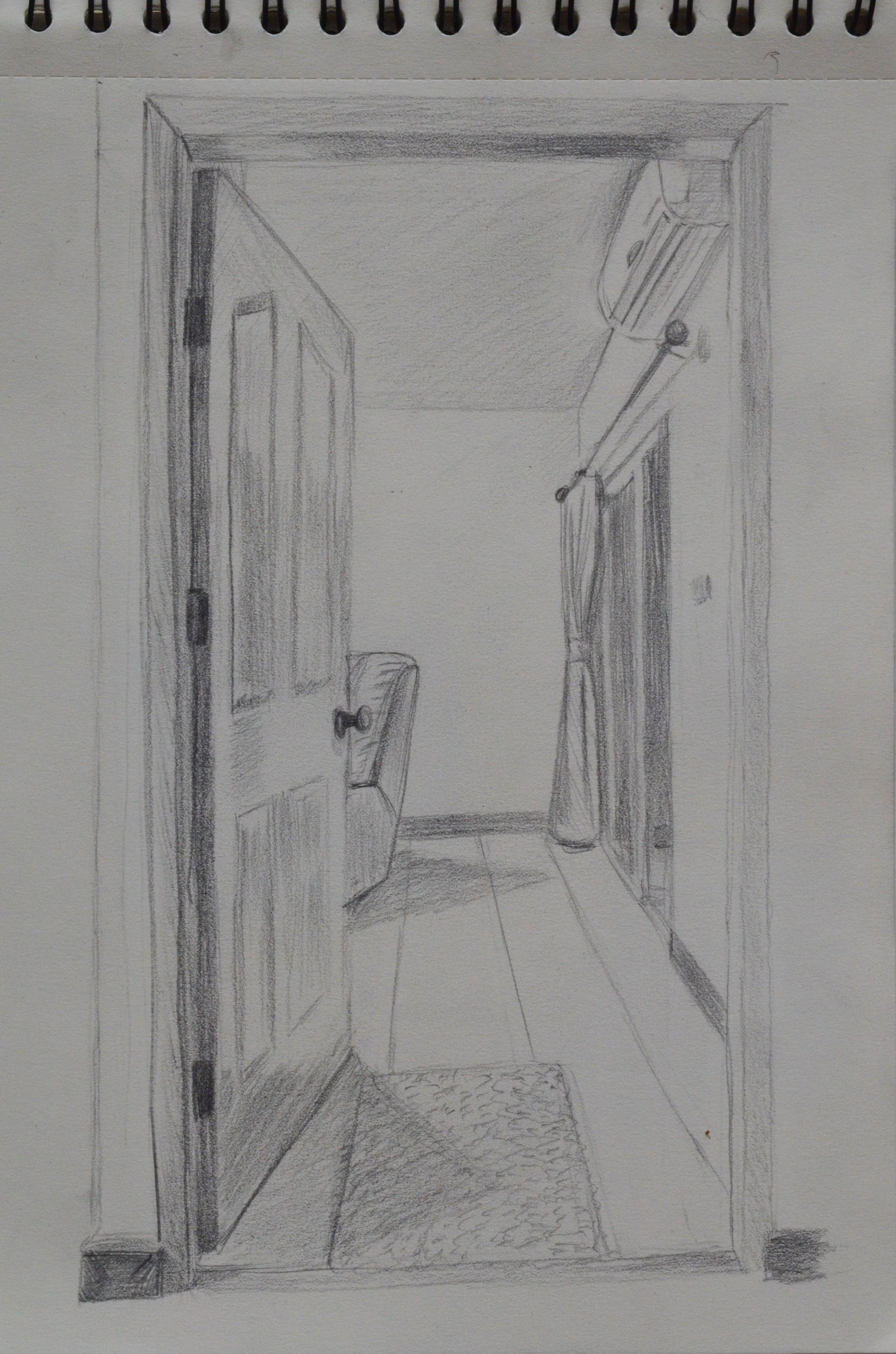 open closet door drawing. Afbeeldingsresultaat Voor Door Perspective Open Closet Drawing