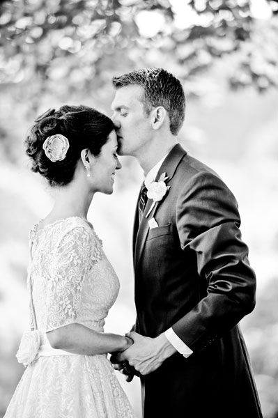 The forehead kiss: a requisite on every must-shoot list!
