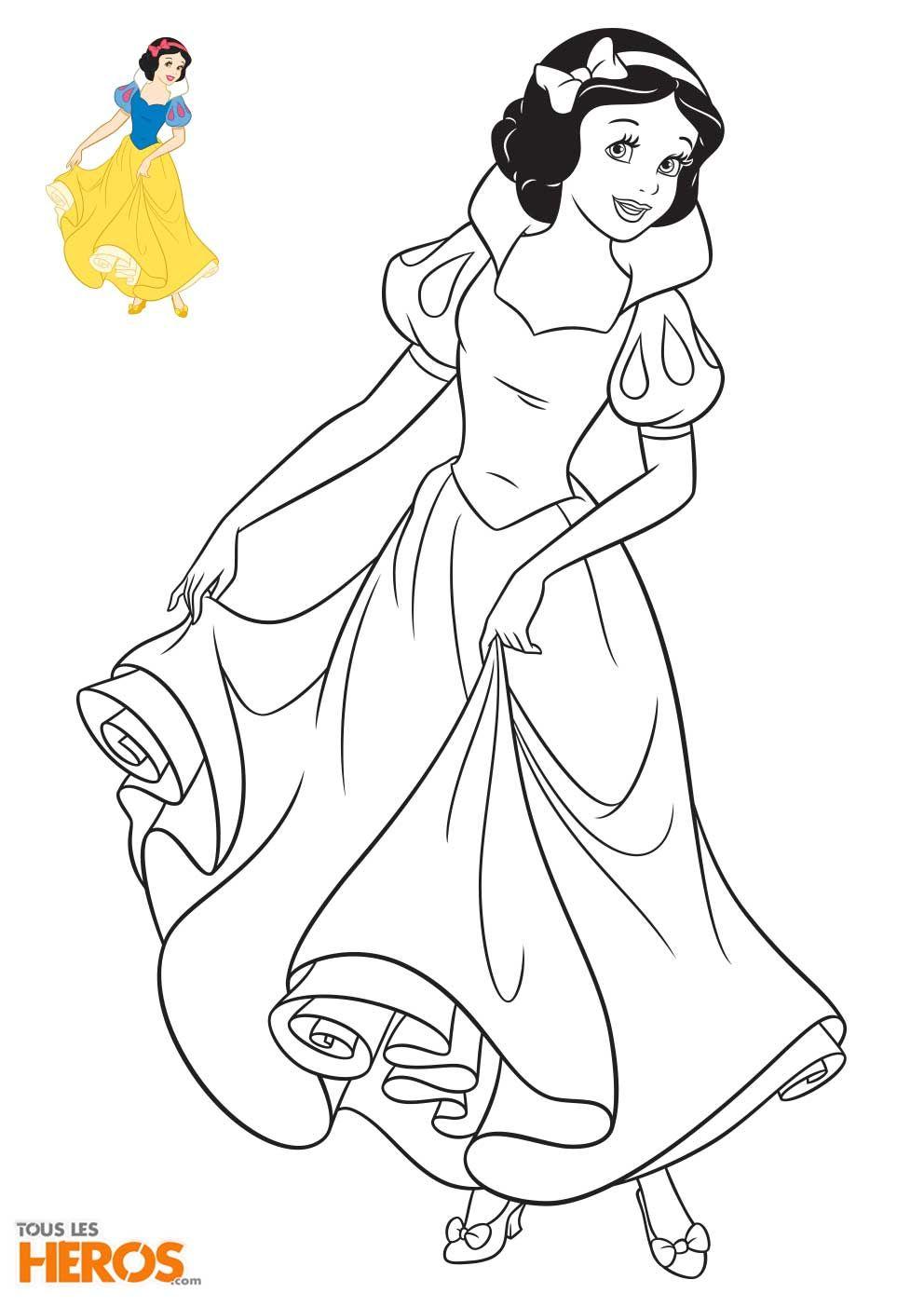 Coloriage princesse disney avec modele - Modele coloriage ...