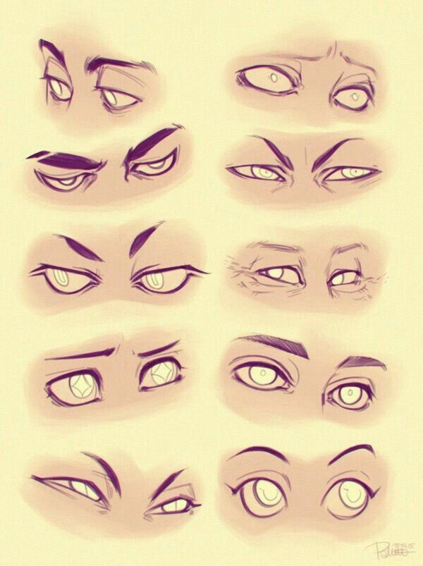 Eyes Reference Eye Male Female Drawing How To Drawing Tutorial