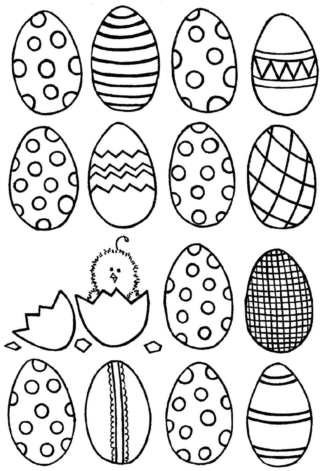 Blank Easter Egg Templates Easter Egg Template Easter Coloring Pages Egg Template