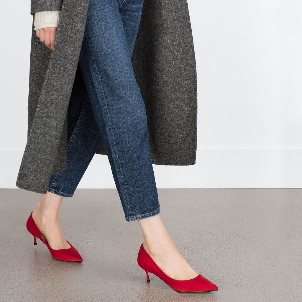 Tacón Zapato Todo Zapatos España Ver MujerZara Medio 26€ Para shCtrdQxB