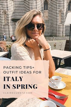 Photo of Packing For Italy In Spring: What Clothes I'm Bringing – Claire Guentz