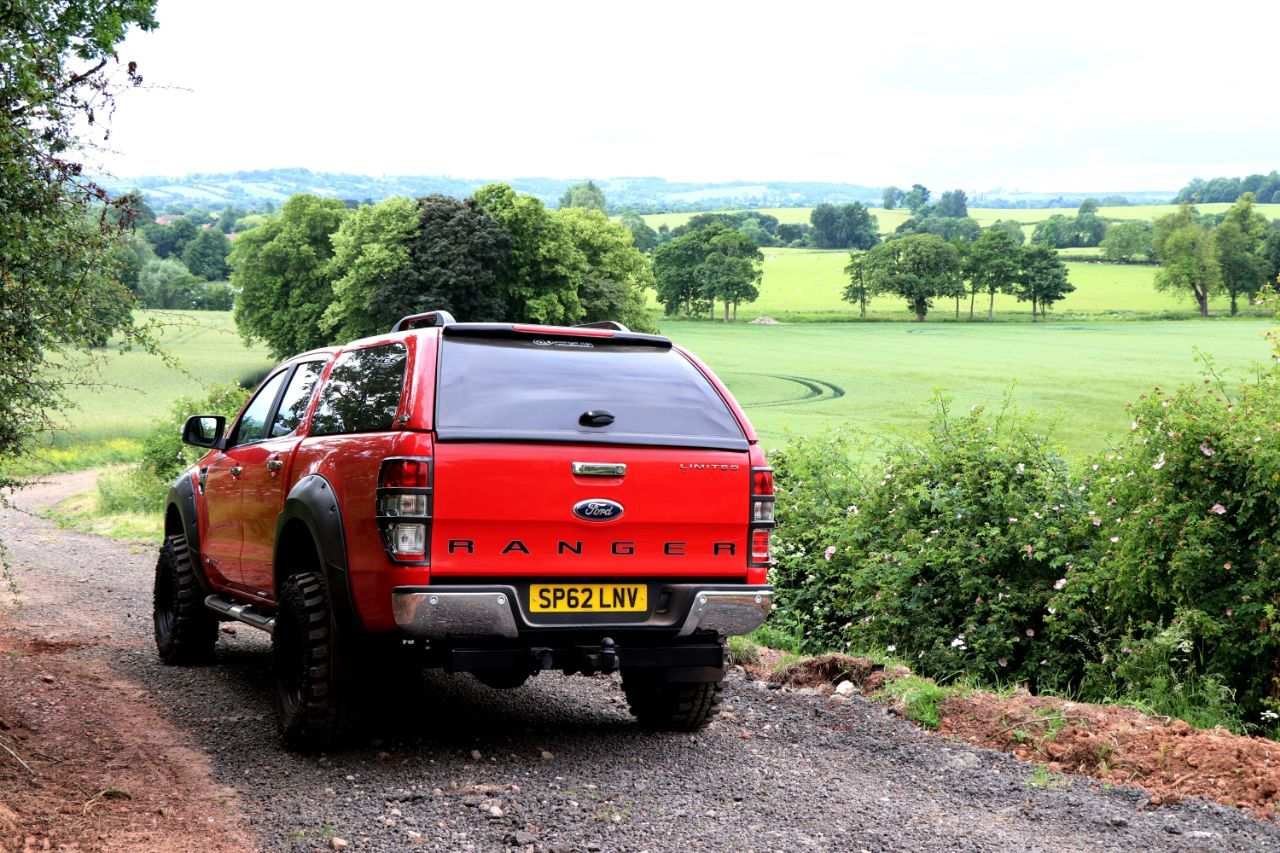 Second Hand Ford Ranger Pick Up Double Cab Seeker Raptor Red Edition Vat Q For Sale In Chesterfield Derbyshire Motorseeker Uk