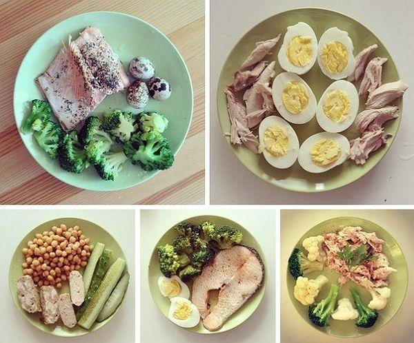 питание для похудения и сушки