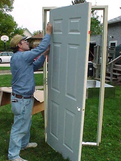 Mobile Home Exterior Doors Custom Size Replacement From A Standard Door Mobile Home Repair Remodeling Mobile Homes Mobile Home Doors Mobile Home Exteriors
