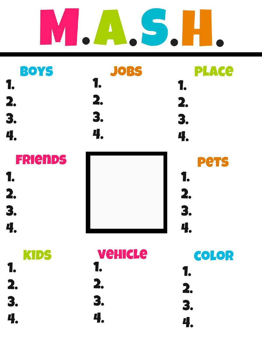 picture relating to Mash Printable called mash printables.pdf - Shared Documents -  Do it yourself