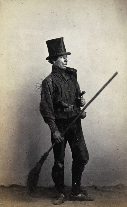 Chimney Sweep 1860 Photography Deshollinador Londres