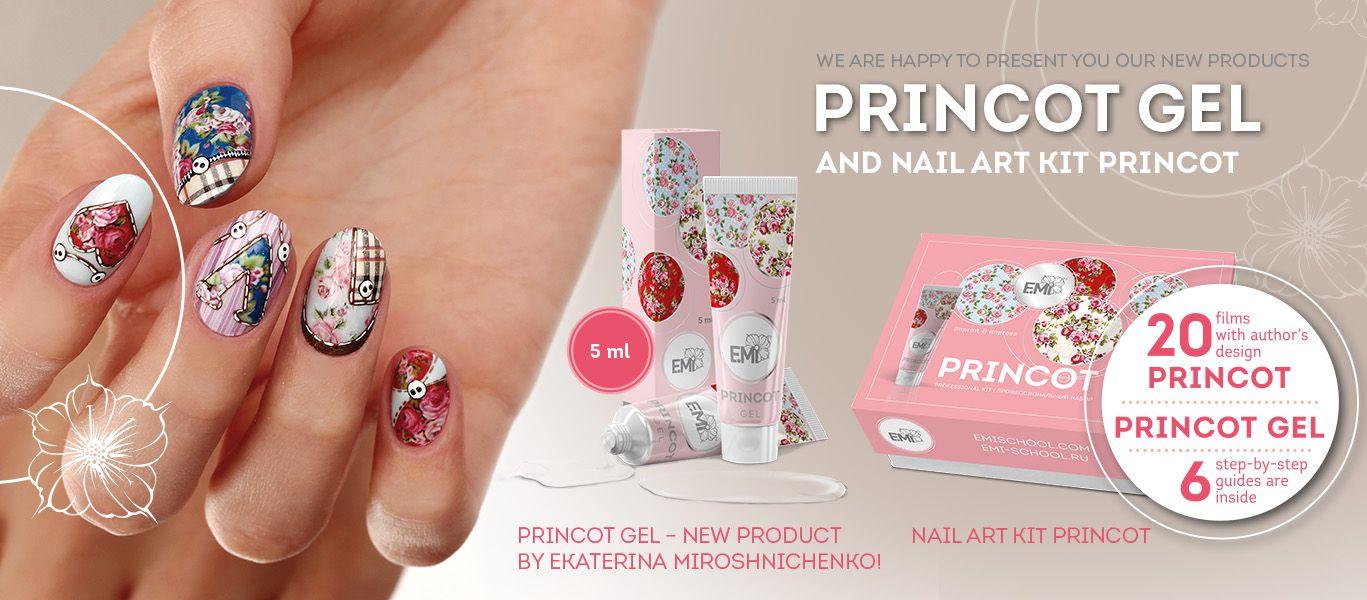 New products: PRINCOT Gel and Nail Art kit PRINCOT | princot ...