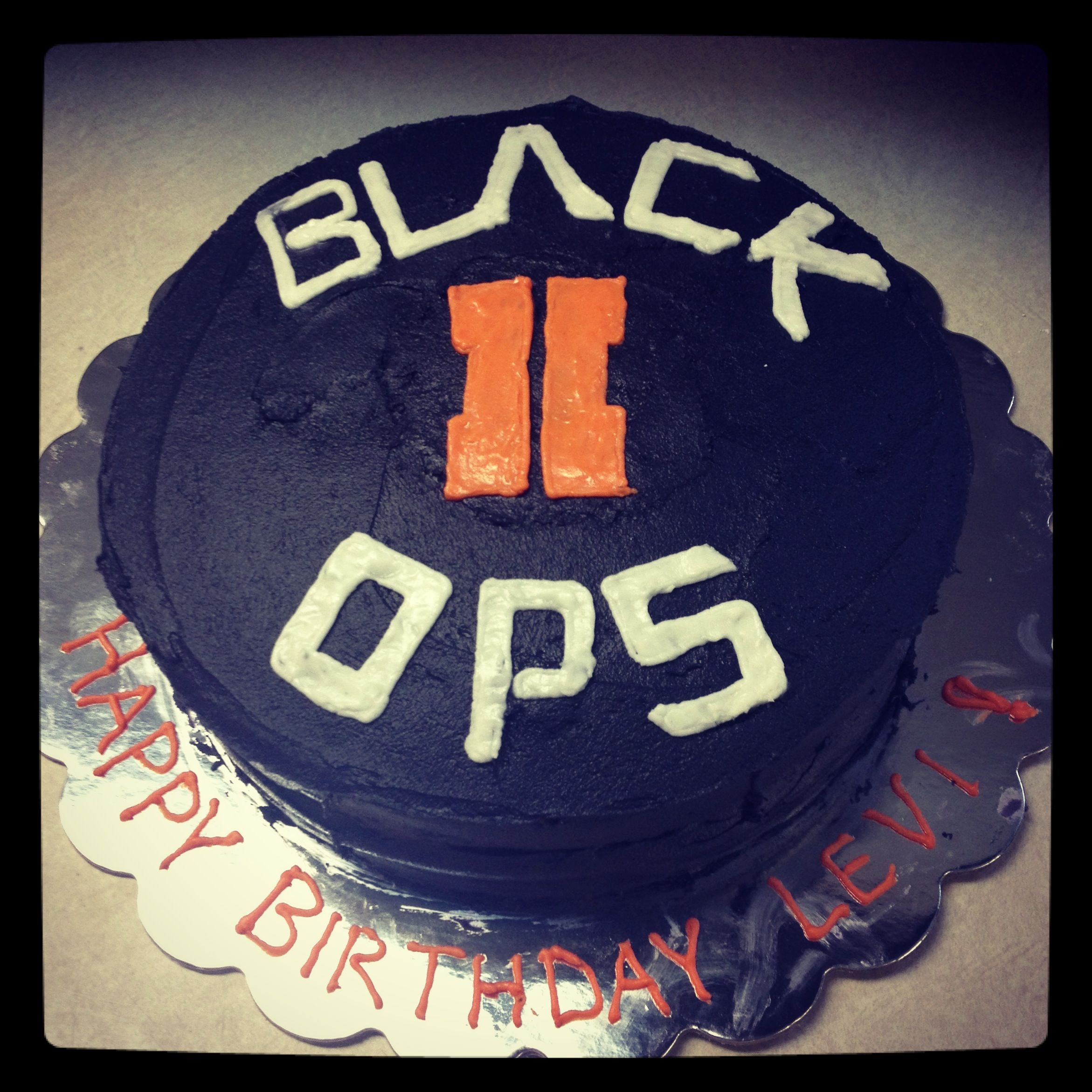This Dude Must Really Be A Fiend Black Ops 2 Birthday Cake Kurt