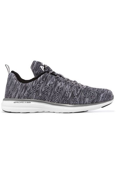 2eb23cb79cfe APL Athletic Propulsion Labs - Techloom Pro Mesh Sneakers - Gray ...