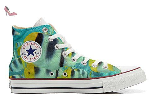 Make Your Shoes Converse Customized Adulte - chaussures coutume (produit artisanal) Blond girls - size EU 32 CMwXIE3ri
