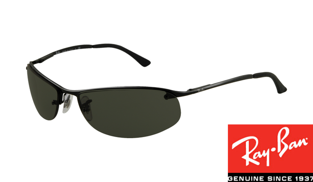 d5773180ff Fake Ray-Bans RB3179 Top Bar Oval Sunglasses Black Frame sale http