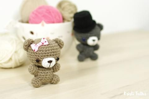 FREE PATTERN: Tiny Teddy Bear