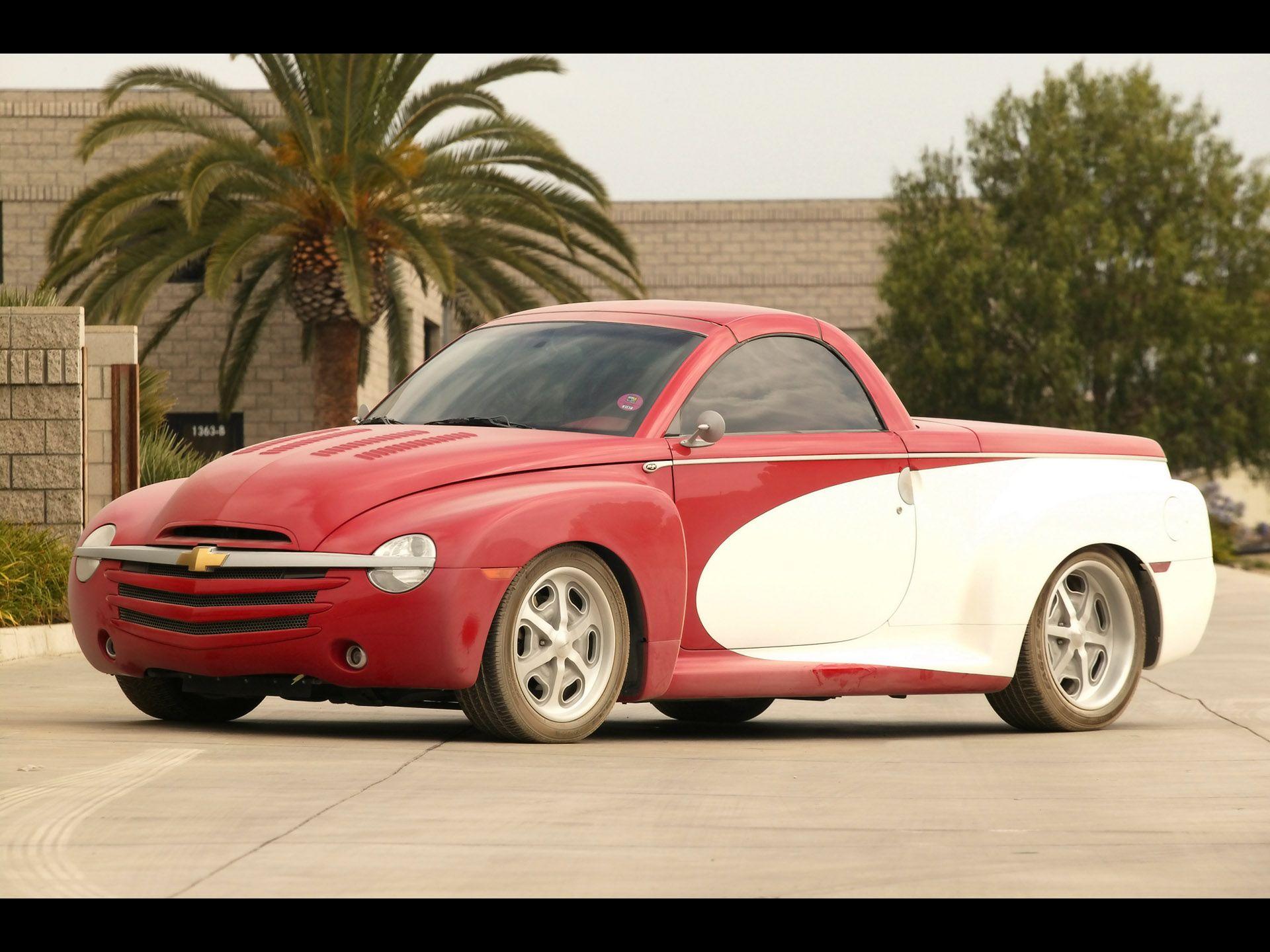 2004 Chevrolet Ssr Push Truck Chevrolet Ssr Chevy Ssr Chevrolet