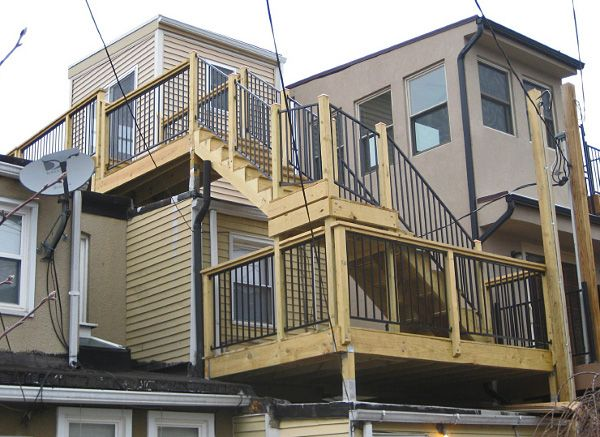 Rooftop Decks For Baltimore Rowhomes Rooftop Deck Deck Rooftop