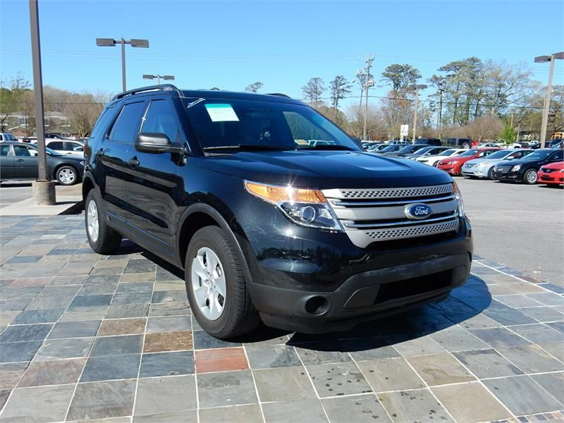 2013 Ford Explorer 30221 Miles Black Exterior Color With A Tan
