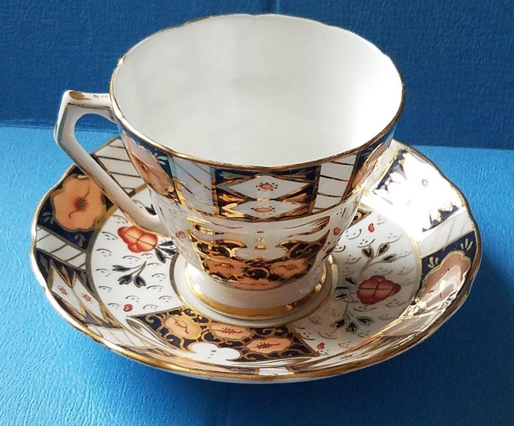 Royal albert bone china tea cup amp saucer winsome pattern ebay - Details About Vtg Strathmore Imari Teacup Saucer Set Fine Bone China Made In England