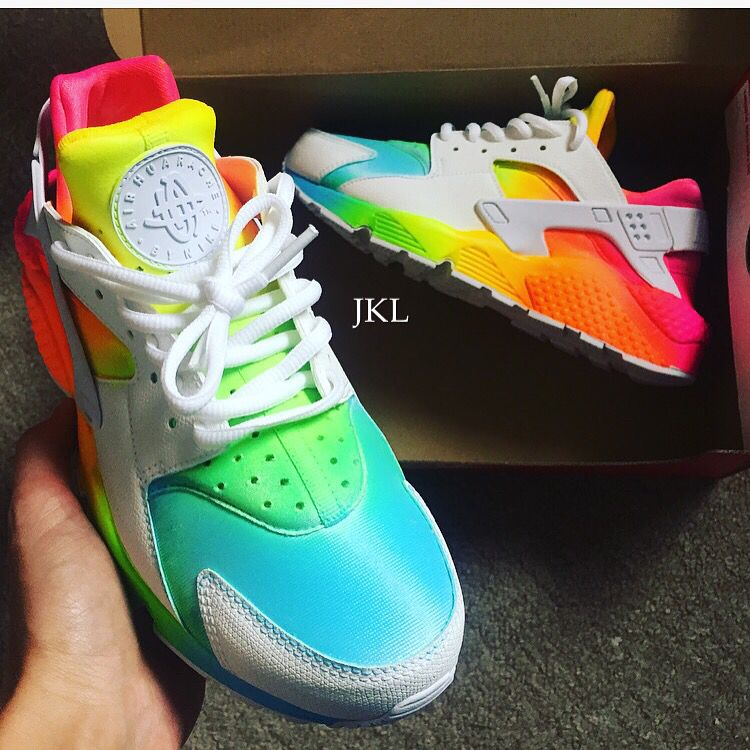 Fashion · Nike Huarache Tie Dye Summer.The base shoe ...