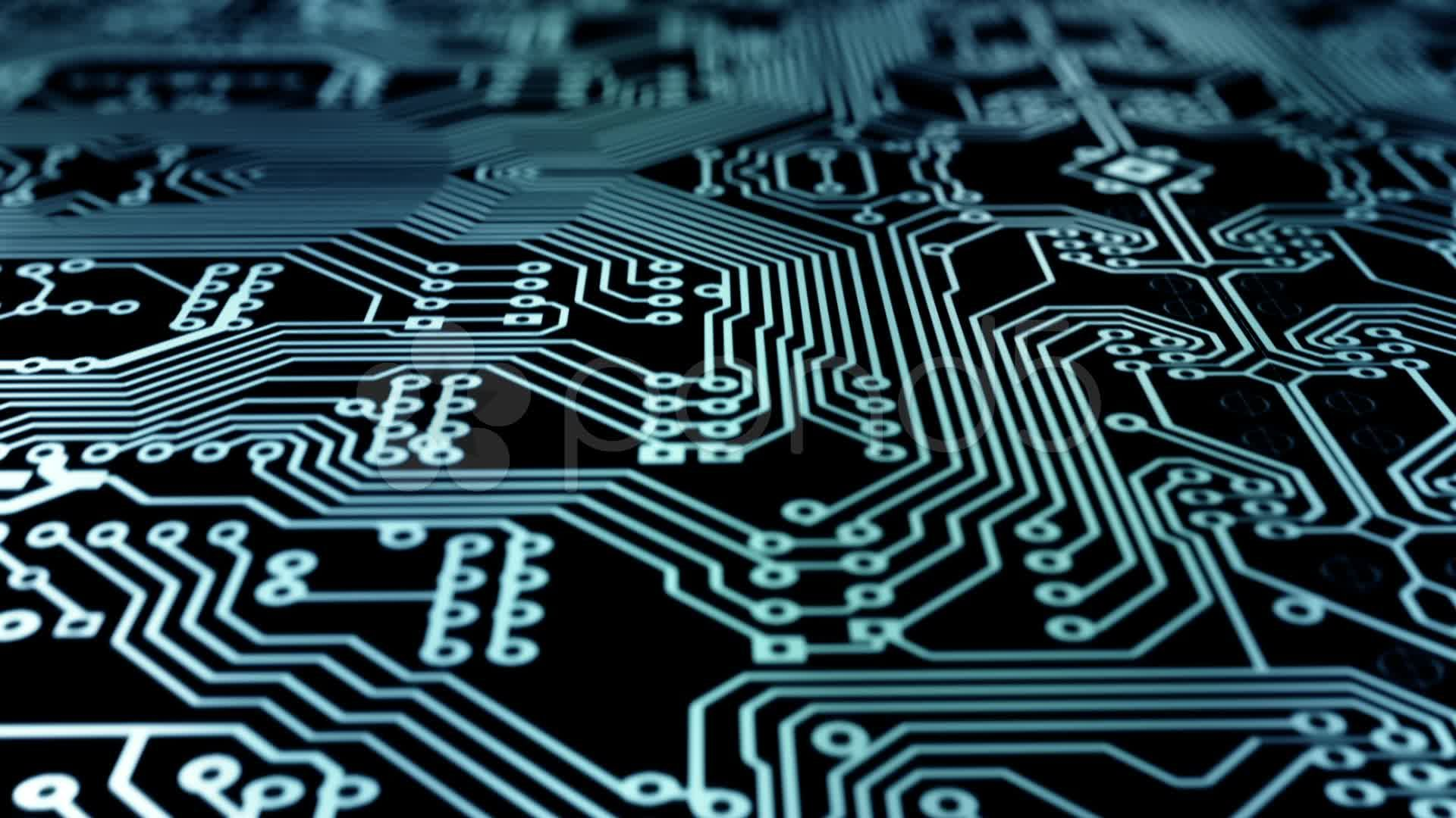 Animated Printed Circuit Board Ock Footage Video Wallpapers Tutorial Diy Pcb Thermal Method Design Embedded