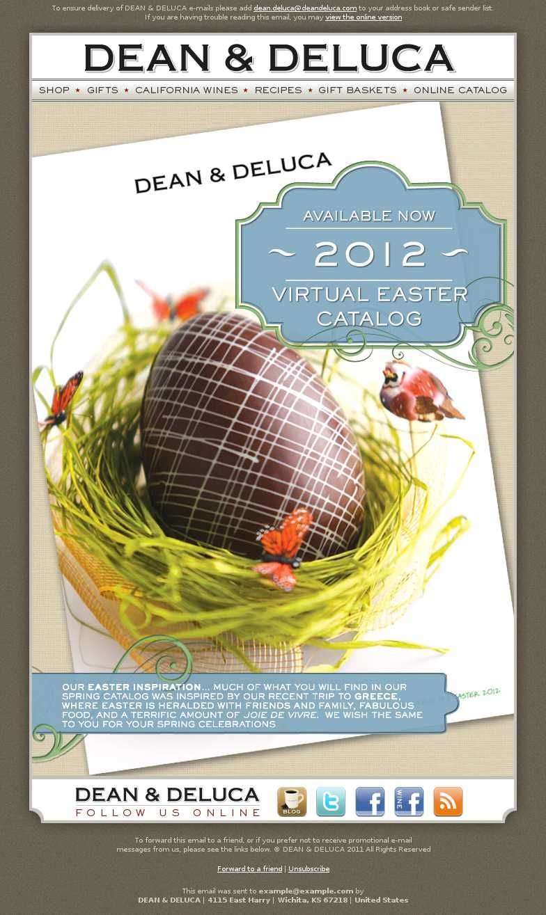 Easter email marketing seen up close email marketing samples easter email marketing seen up close negle Choice Image