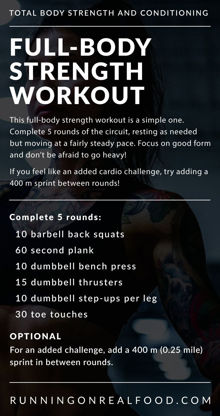 Full-Body Strength Workout