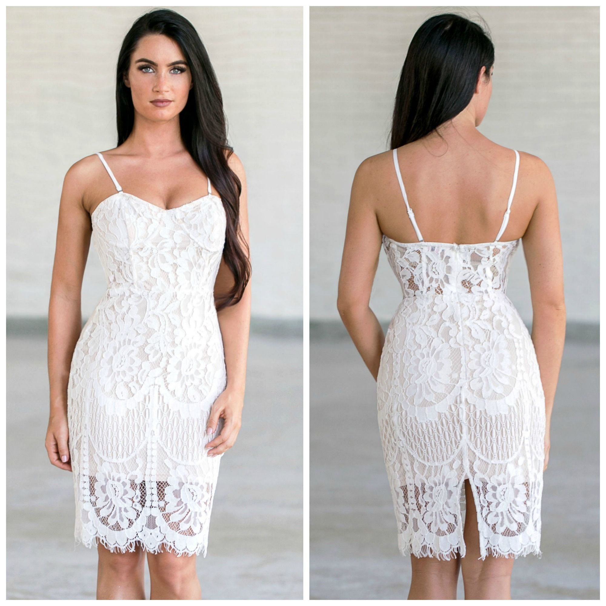 Lace dress maxi  This lace dress is a cute option for a bachelorette party