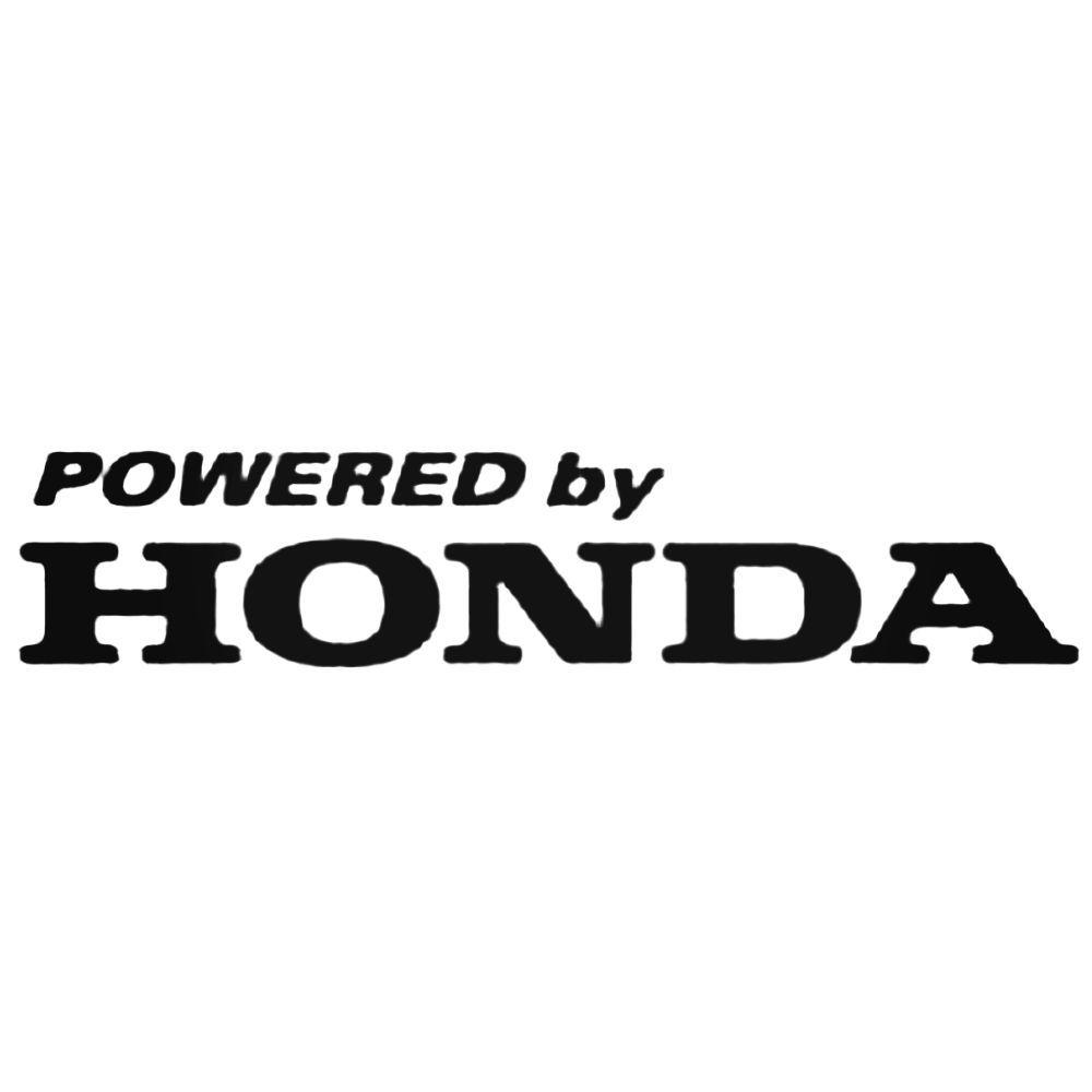 3 Pieces Honda Logos LARGE Vinyl Decals EAT SLEEP RACE Glossy Stickers