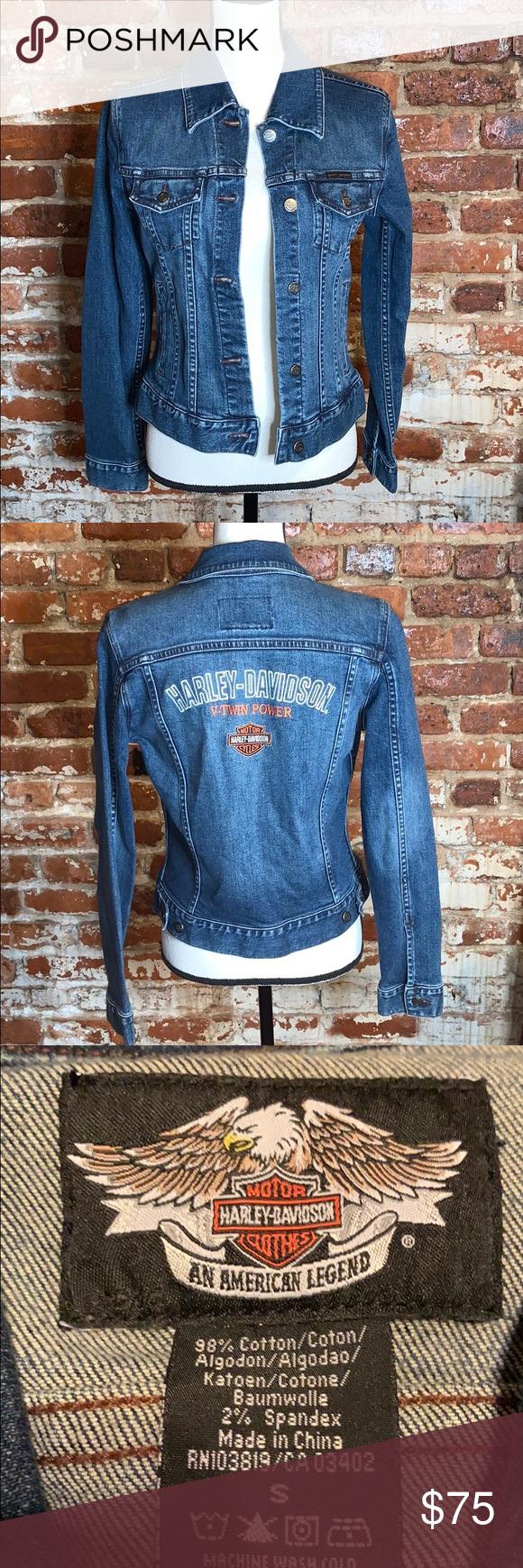 Harley Davidson Jean Jacket Uss Harley Davidson Jean Jacket Harley Davidson Jeans Clothes Design [ 1740 x 580 Pixel ]