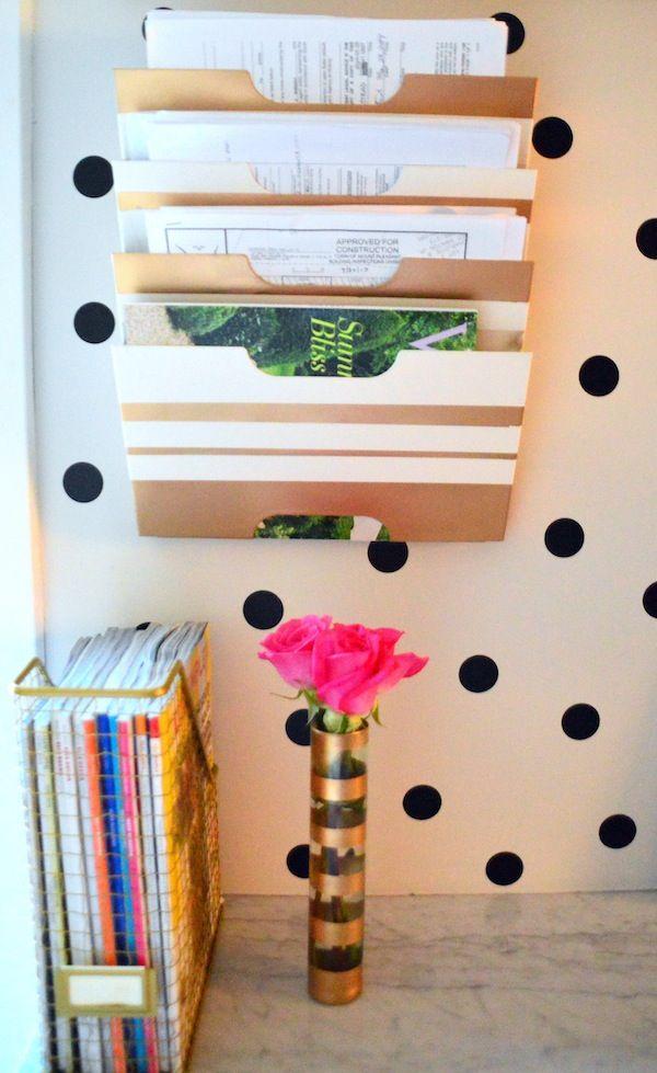 Ikea Kvissle Magazine Rack Love This Tape Lines Across Spray