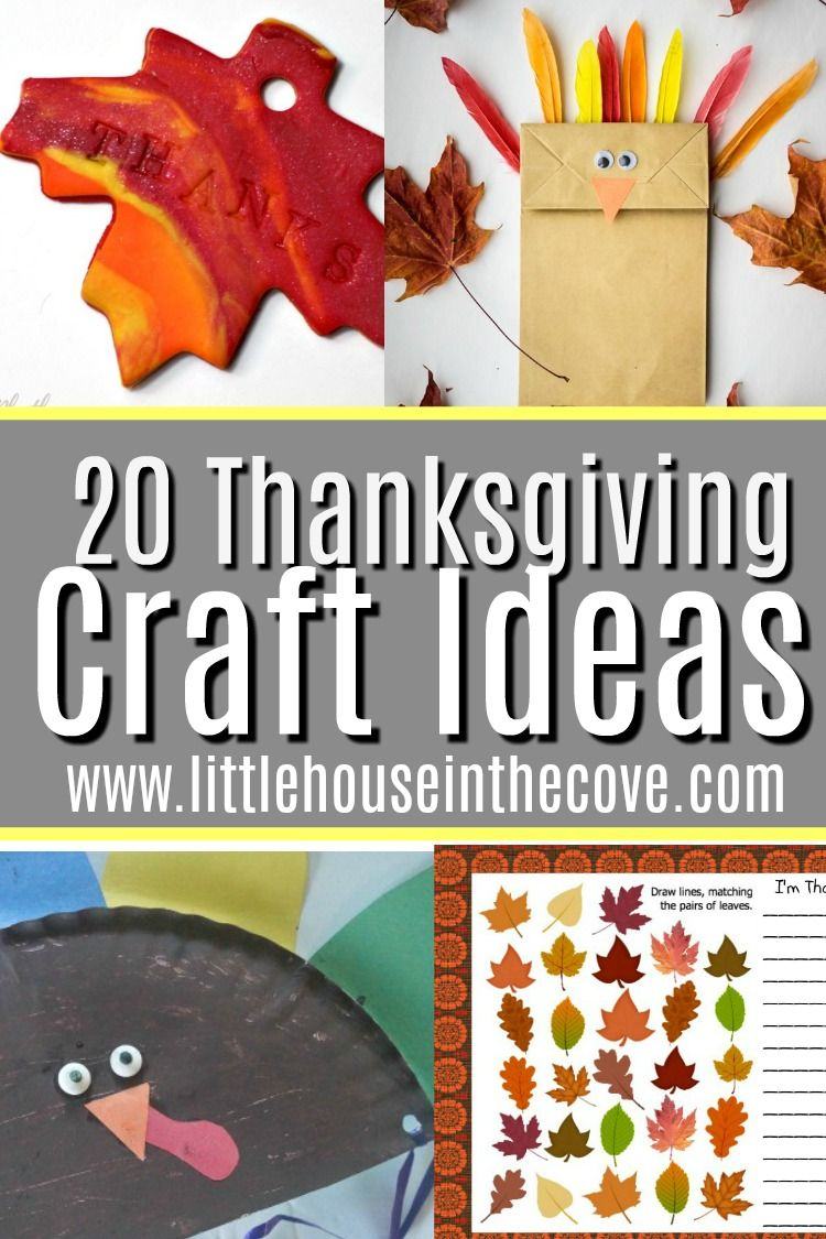 Thanksgiving Crafts For Children Little House In The Cove Thanksgiving Crafts Crafts For Kids Thanksgiving Activities