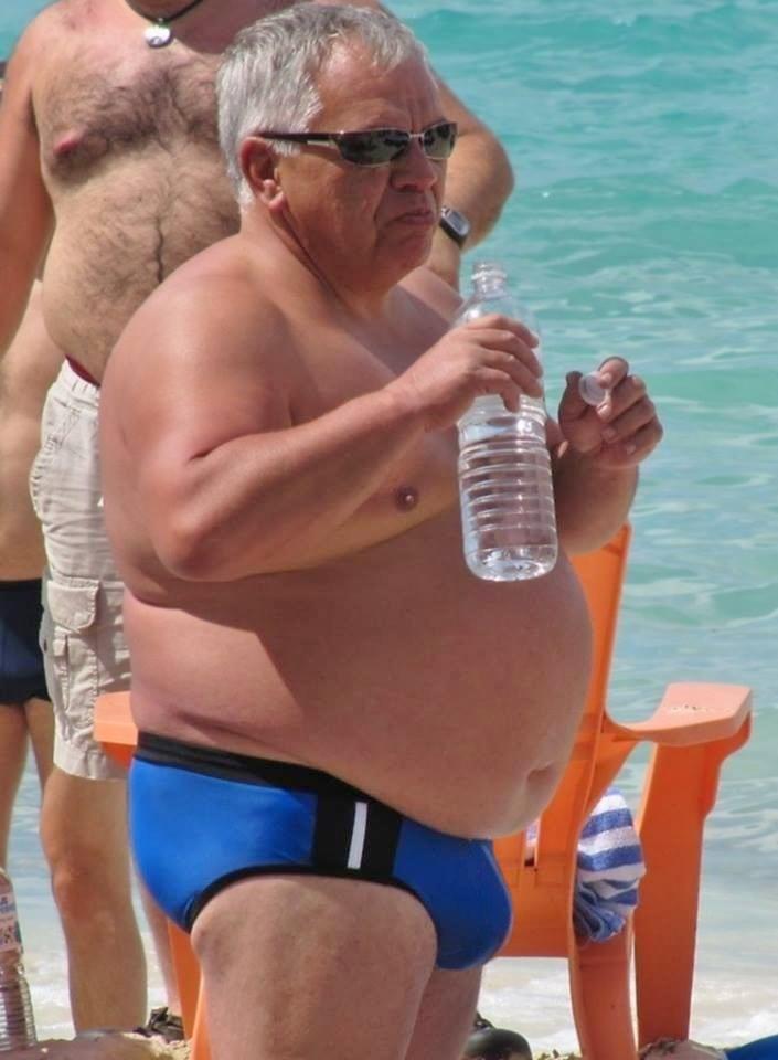 belly Chubby oldermen