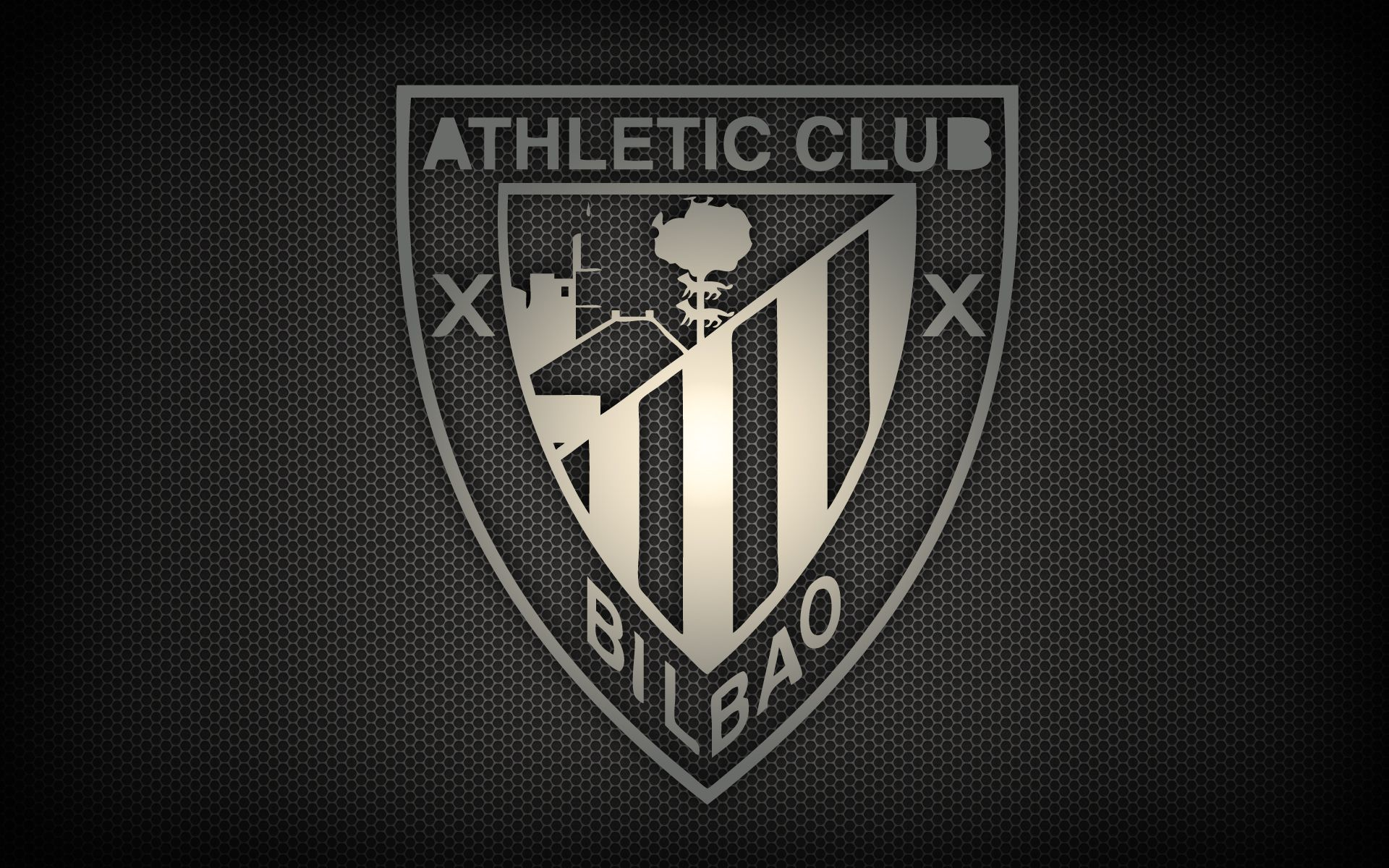 Athletic Bilbao Logo Sport Black HD Wallpaper Desktop ...