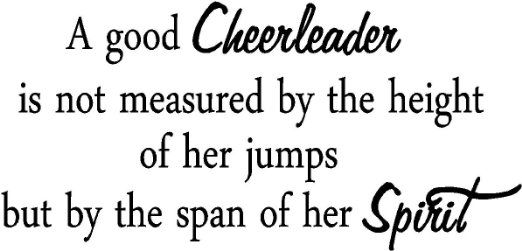 Cheerleading Quotes And Sayings. QuotesGram | cheer ...