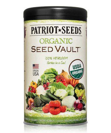 20-Piece Survival Seed Vault Set #zulily #zulilyfinds