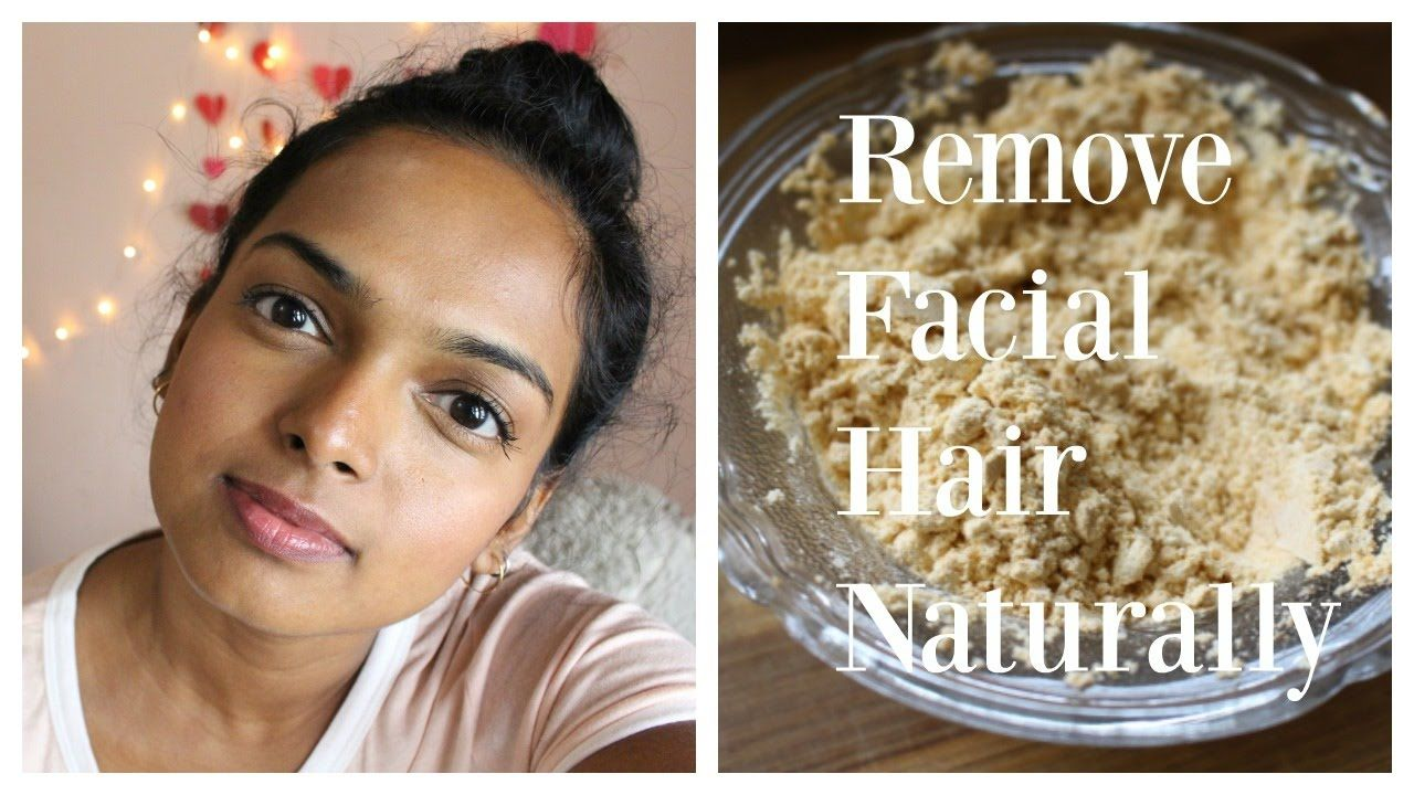 Diy permanently remove facial hair how to get rid of