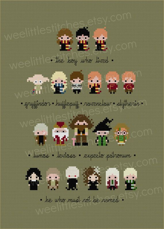 Harry Potter Sampler The Original Pixel People Minis Pdf Basteln Bugelperlen Bugelperlen Bilder Kinderbasteleien
