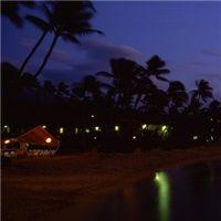 Coastline at dusk, Maui, Hawaii