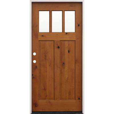 Craftsman Wood Front Doors Exterior Doors The Home Depot