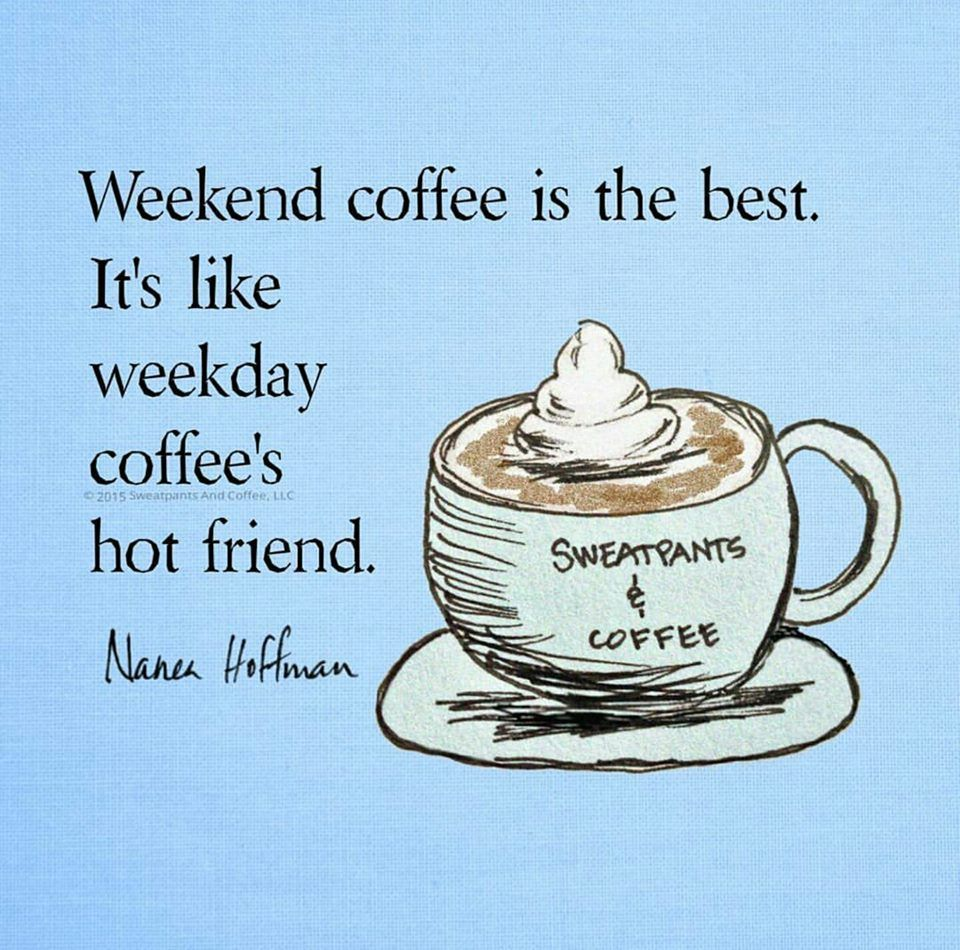 For Us the Coffee Drinkers