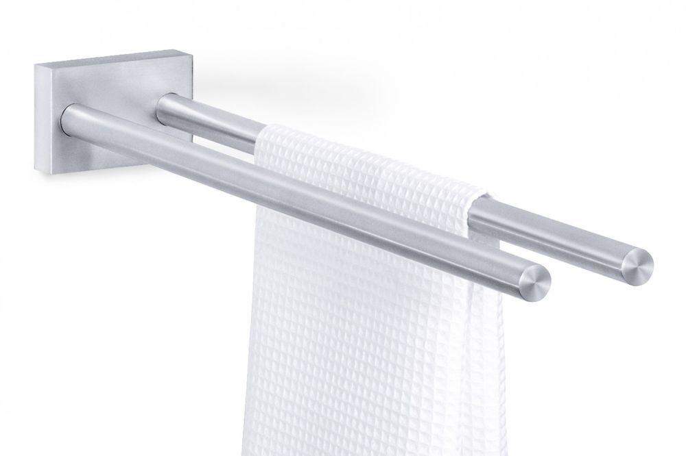 Zack Edelstahl Doppelter Handtuchhalter Fresco Handtuchstange 47 Cm 40197 Handtuchhalter Handtuchstange Stahl