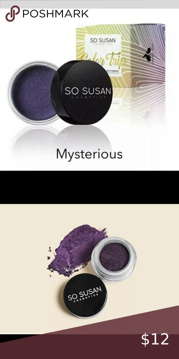 So Susan Color Trip High Intensity Eyeshadow In 2020 High Intensity Color Eyeshadow Pigment Eyeshadow