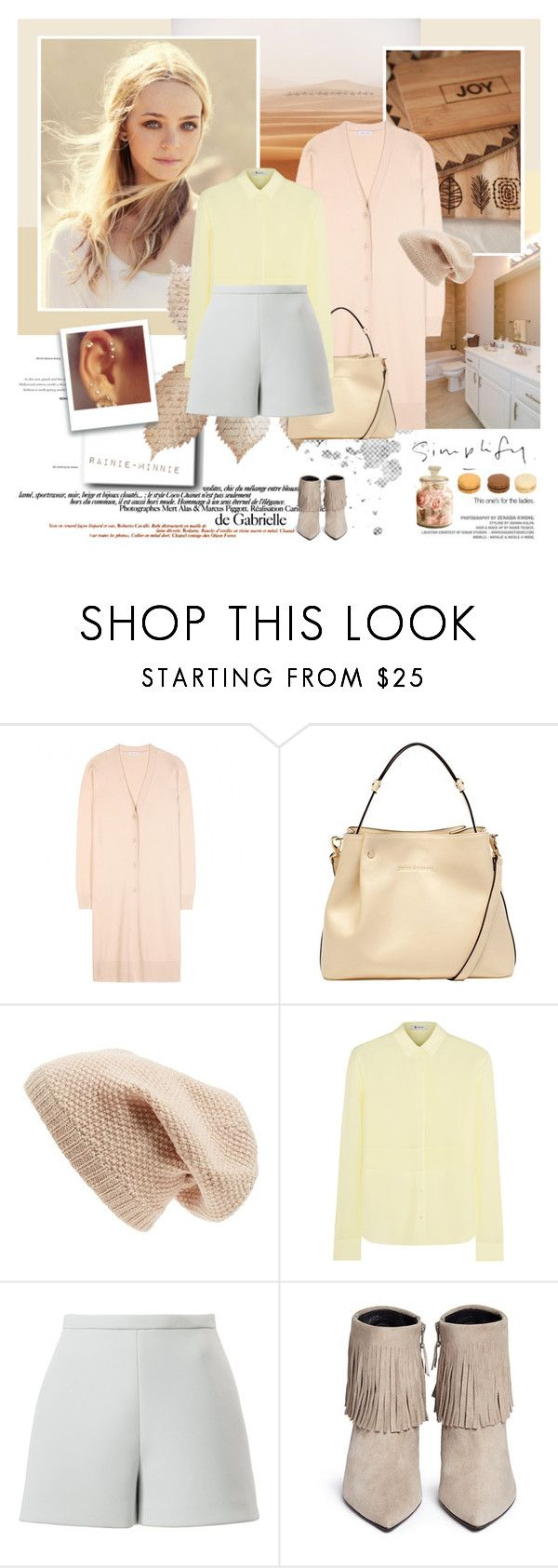 """""""The wind is blowing,I'm going where the wind blows.."""" by rainie-minnie ❤ liked on Polyvore featuring Tomas Maier, Lipsy, Sole Society, T By Alexander Wang, Delpozo and Stuart Weitzman"""