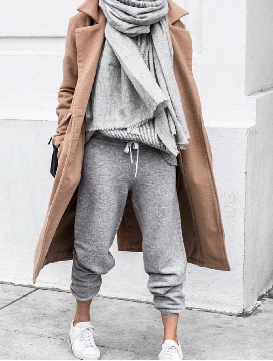 Photo of Let's get cozy ♥ #cozy #sneakers #coat #fall #winter #style