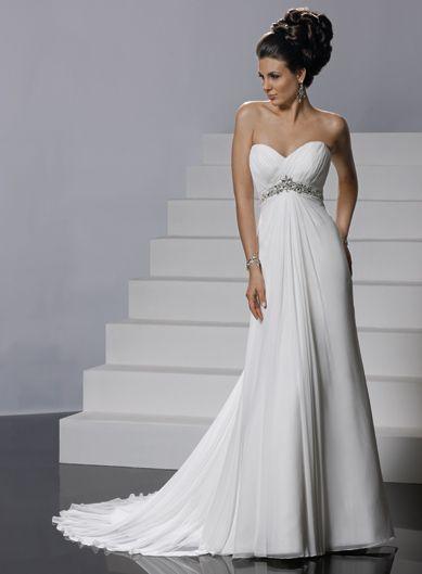 Nice And Simple Really Enjoy This Wedding Dress A Sweetheart
