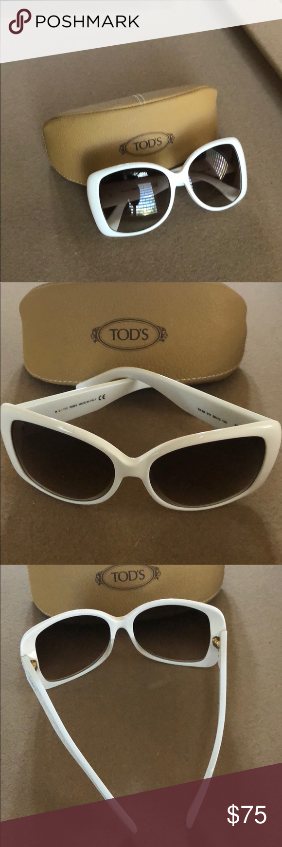 64f8079af7eb1 Tod s Sunglasses TO85 21F Authentic Tod s Sunglasses TO85 21F