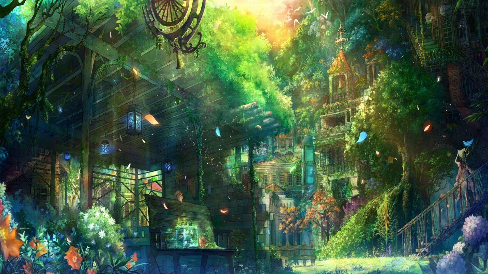 Anime City Wallpaper Anime Scenery Wallpaper Anime Scenery Anime Background