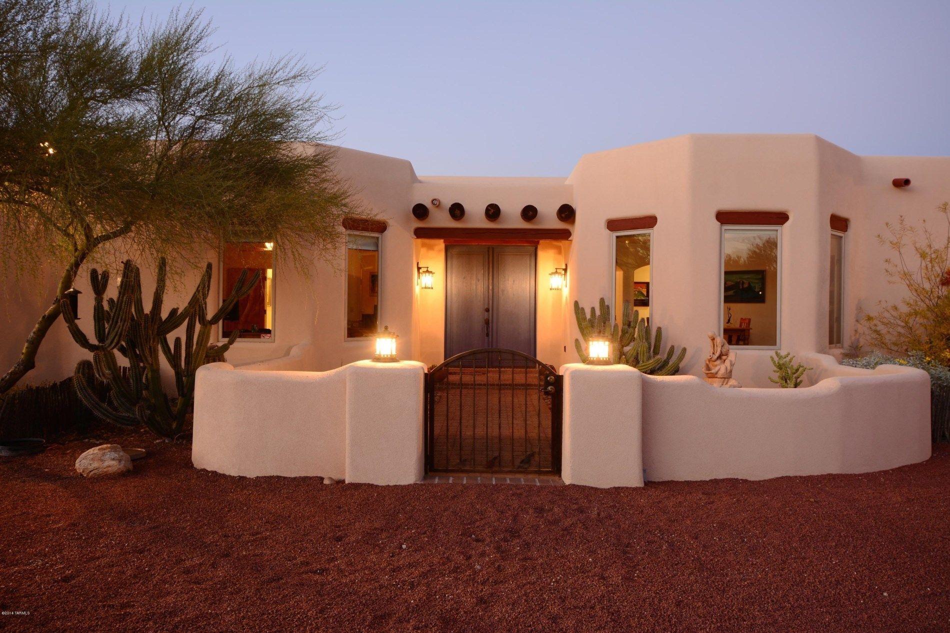 santa fe style homes for sale in tucson az