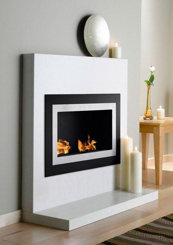 Minimalist Fireplace For The Home Bioethanol Kamin Ethanol