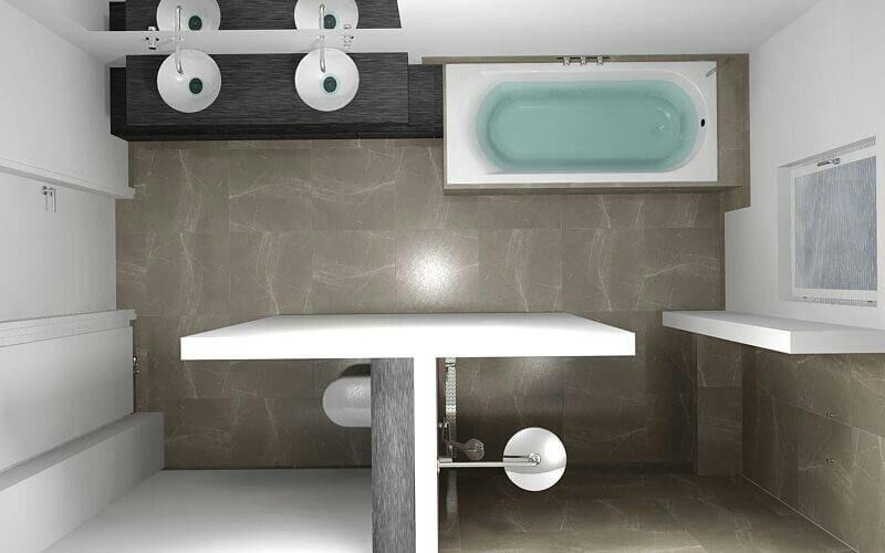 Pin Von Amandine Dieul Auf Salle De Bains Badezimmer 7m2 Badezimmer Kleines Bad Ideen